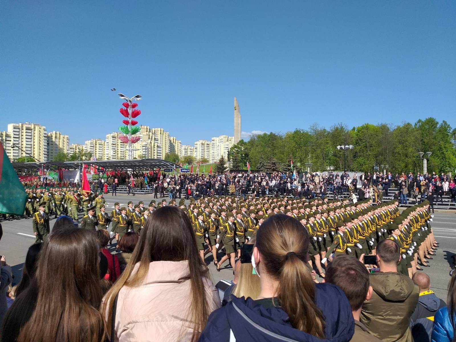 Парад Победы в Минске