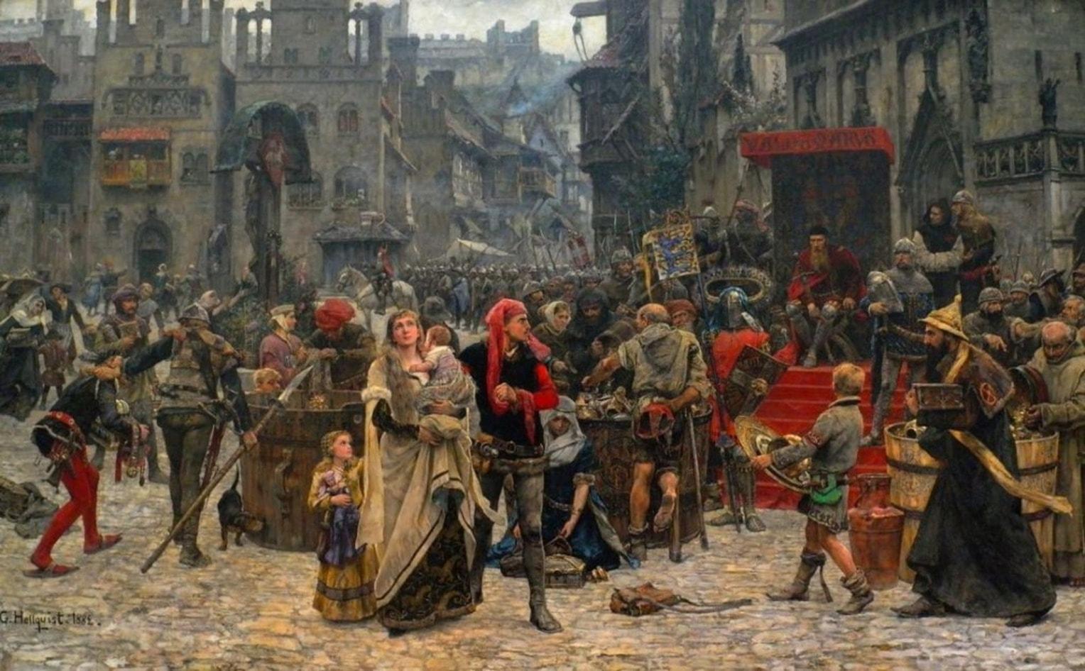 Полоцк в начале 16 века был похож на европейские города