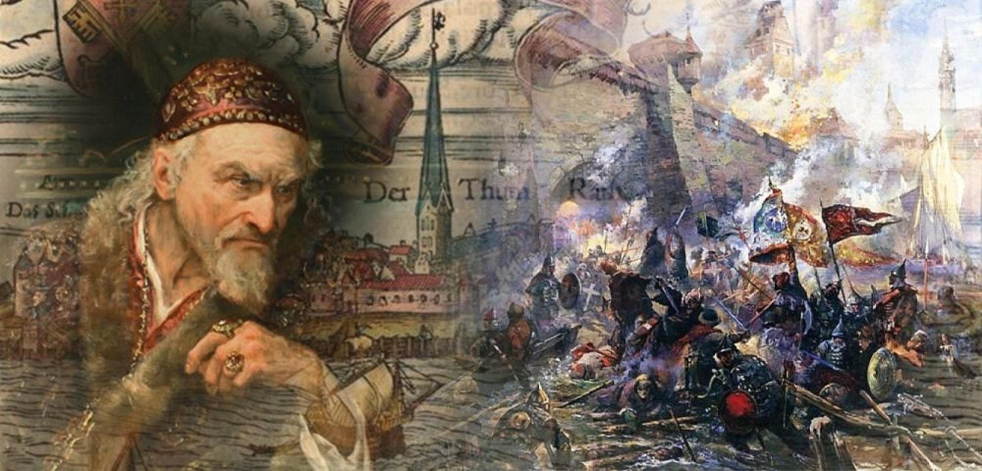 Царь Иван задумал взять Полоцк