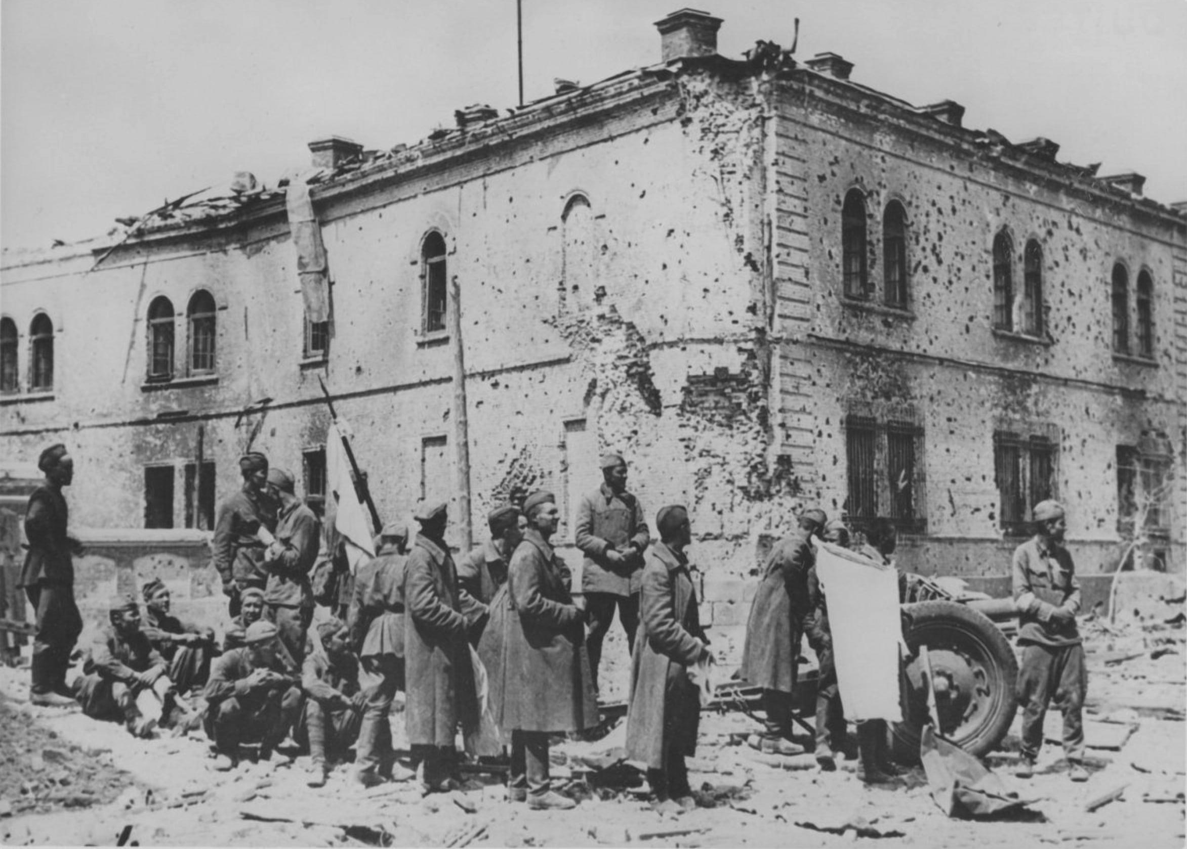 Большое количество пленных - свидетельство июня 1941 года в районе Бреста