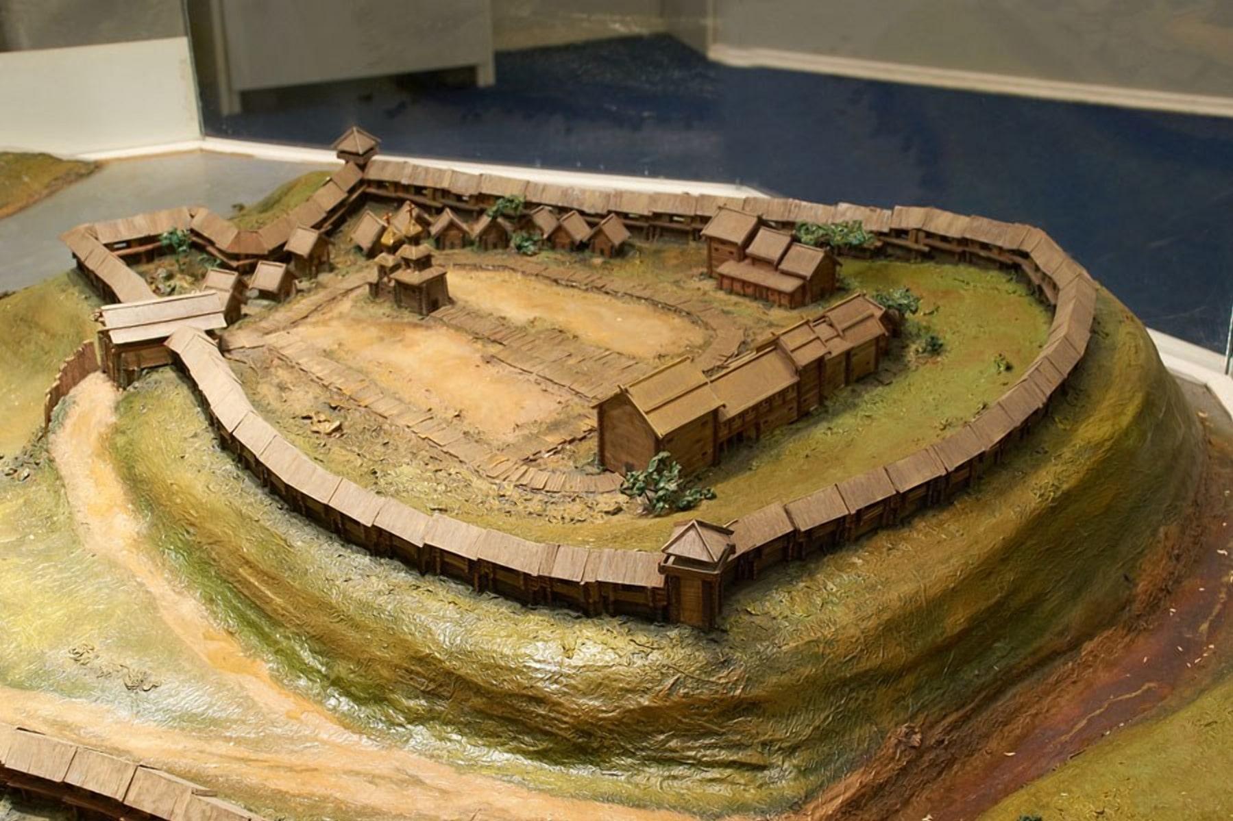 Друцк первоначально был просто укрепленным фортом