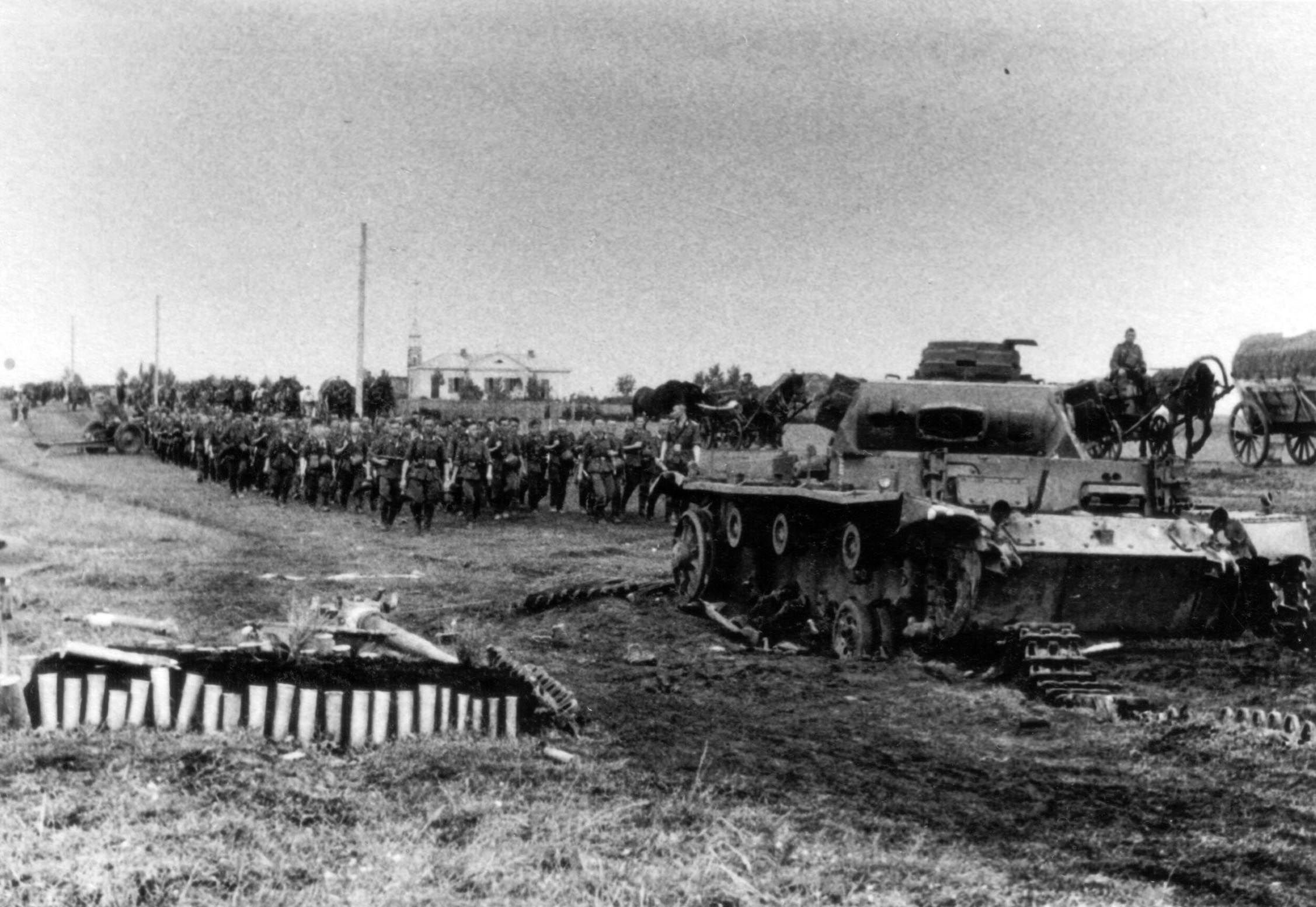 Немцы в районе Жлобина