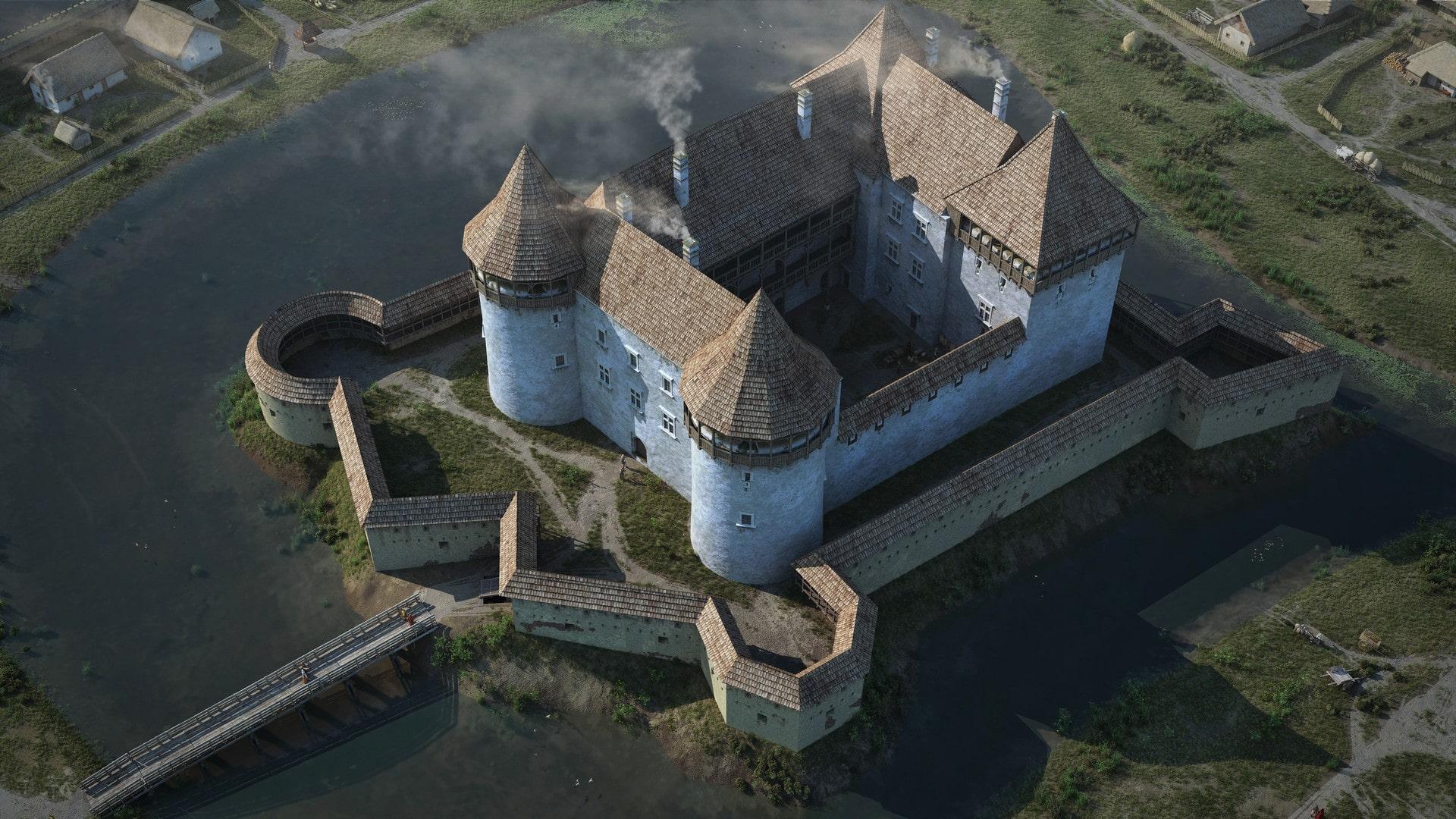 Оршанский замок был центром крупной крепости ВКЛ