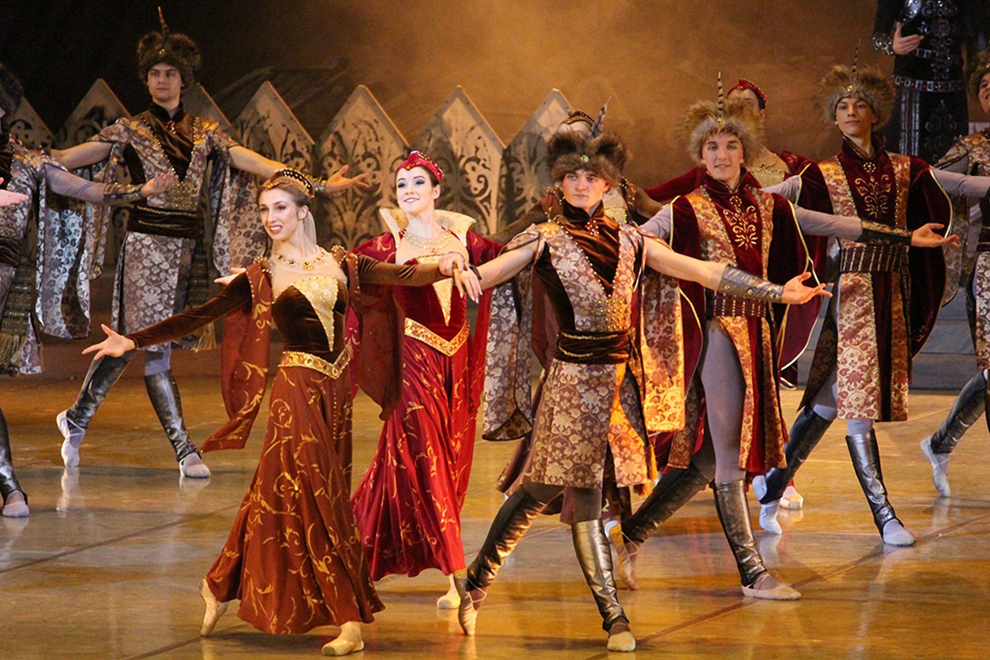 По событиям 1508 года в Беларуси поставлен балет