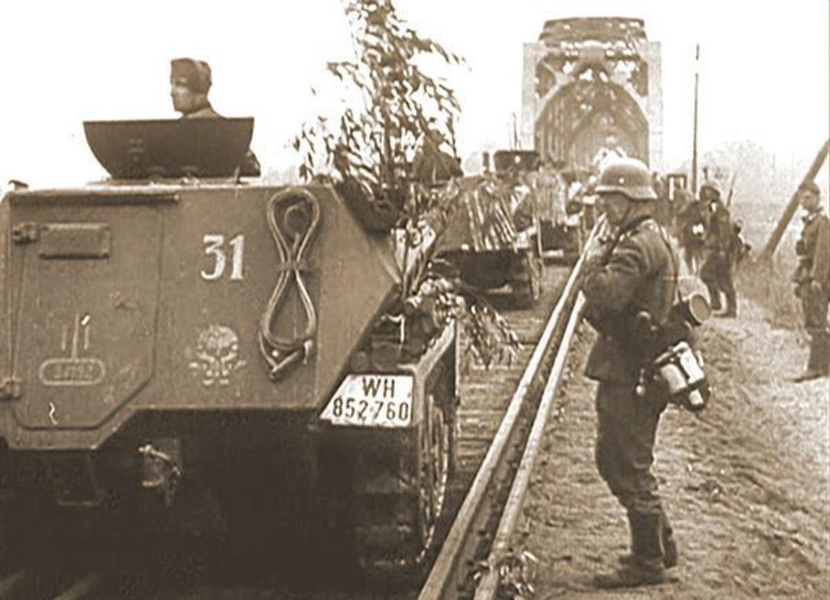 Все железнодорожные мосты достались неповрежденными