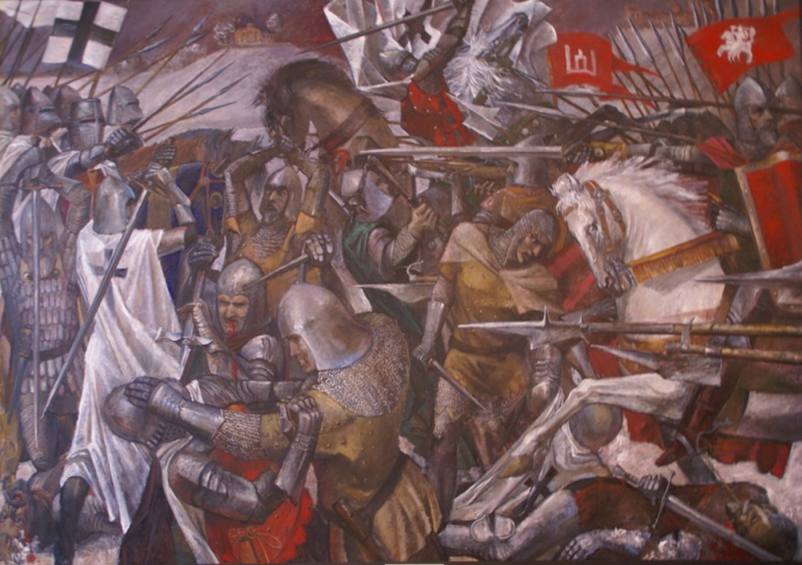 Давыд Городненский совершал набеги на земли Пруссии