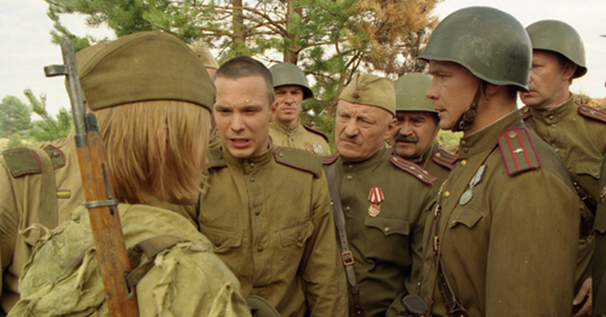 Добротная военная драма На безымянной высоте