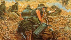 Немецкие разведчики столкнулись с неожидаемым сопротивлением