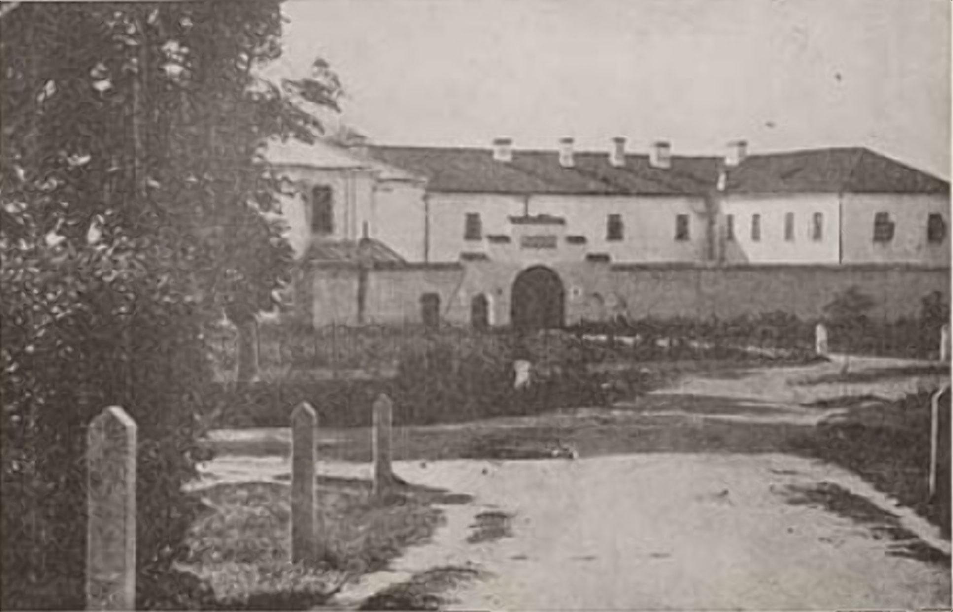 Следственная тюрьма НКВД Бригитка