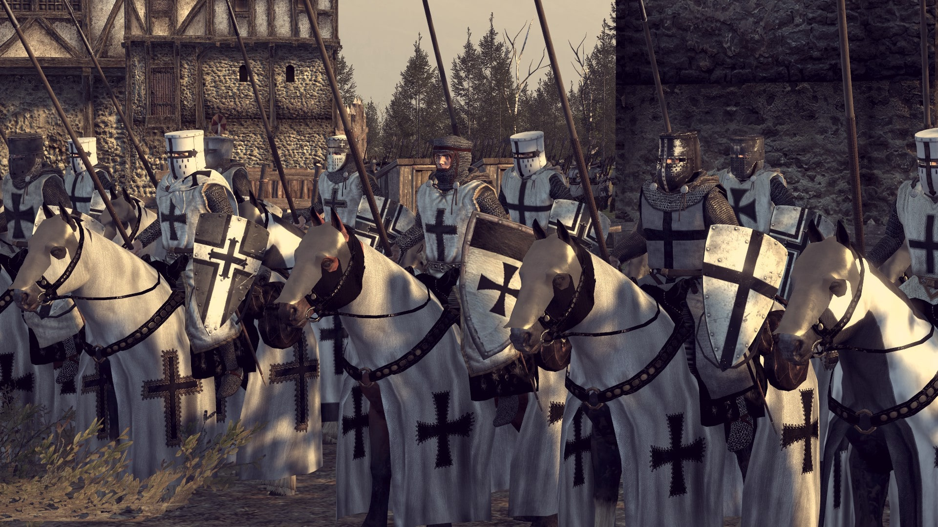 Тевтонский орден оставался грозной силой