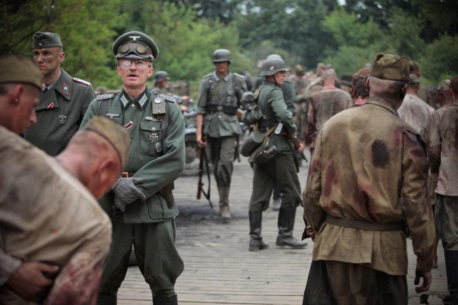 Возле тюрьмы немцы не дождались советских военнопленных