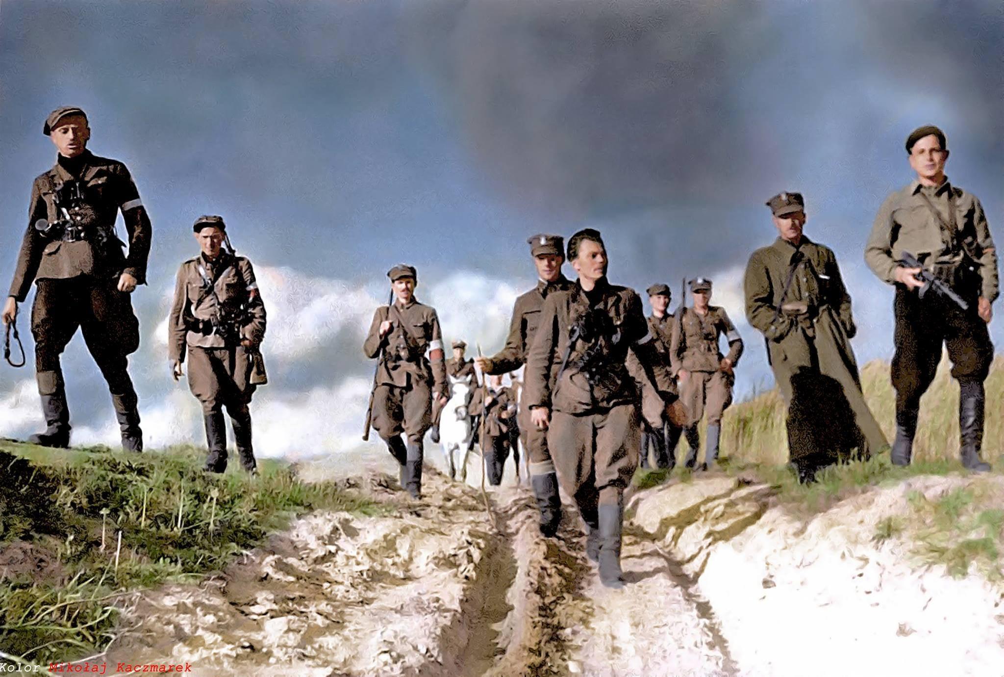 В Бригитке сидели бойцы Армии Краевой