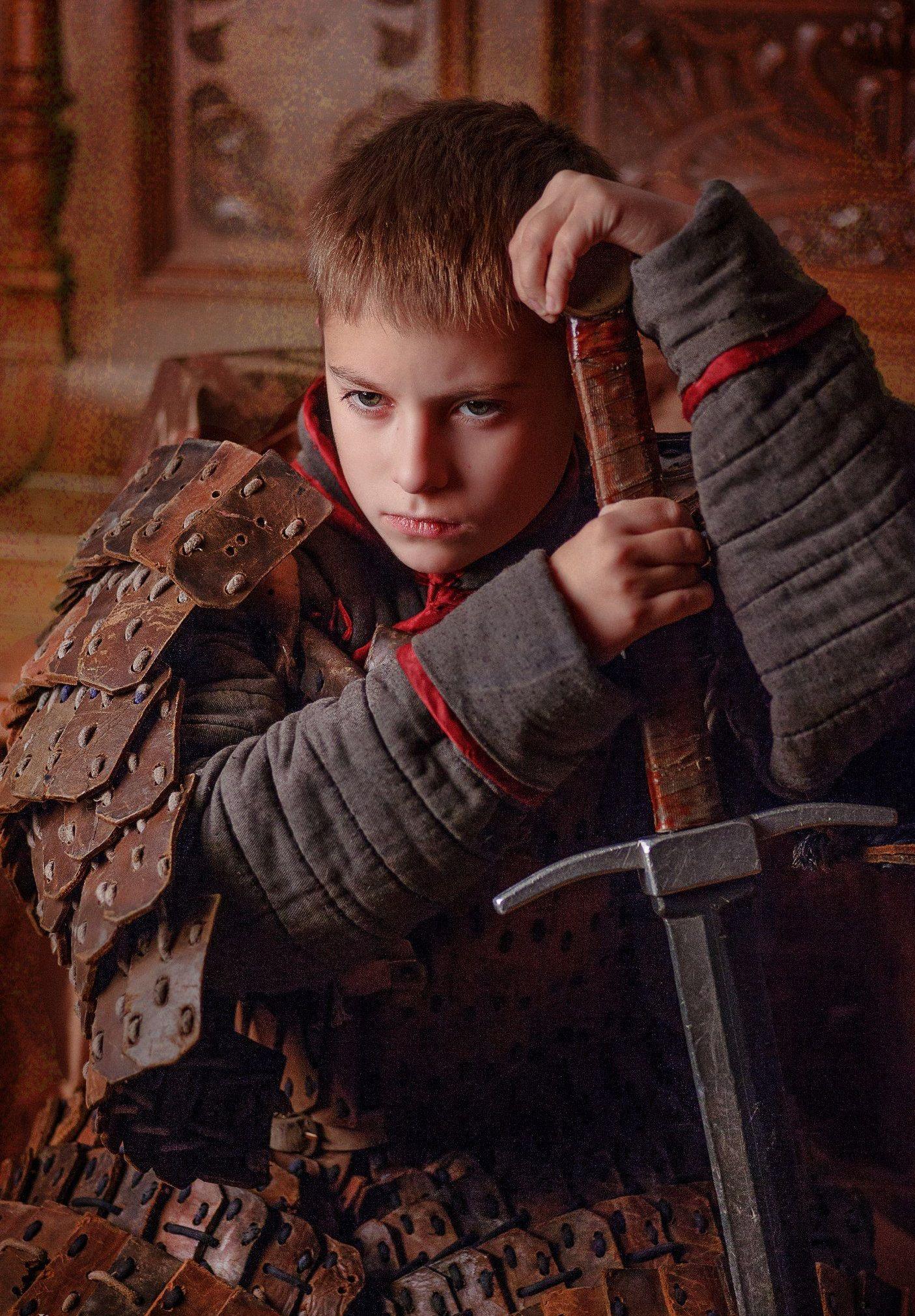 Глеб Минский привык воевать с детства