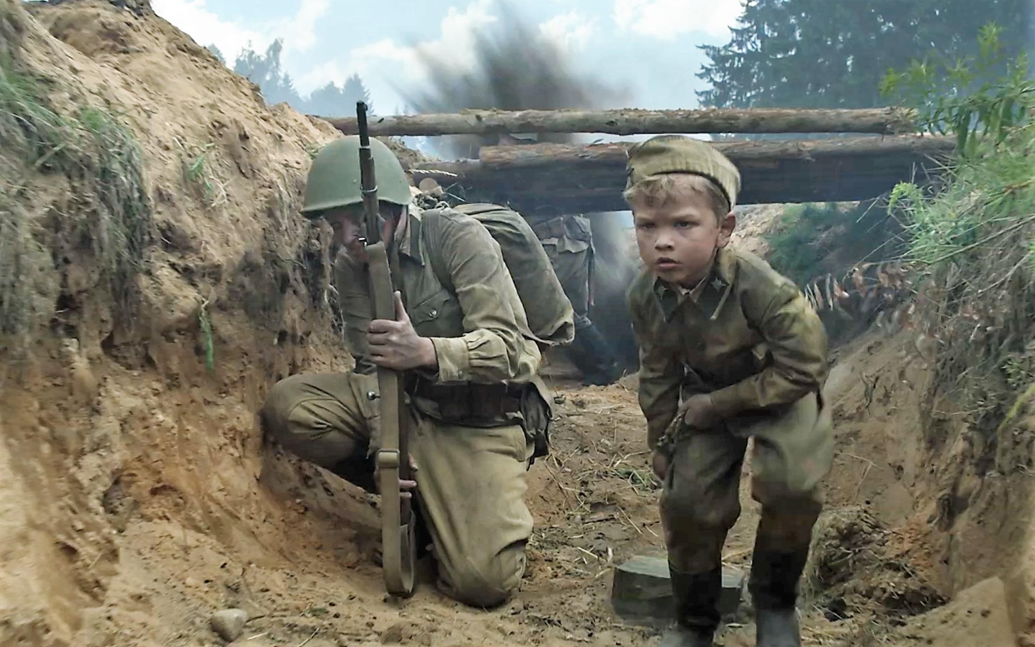 Детские фильмы о войне стали сниматься редко