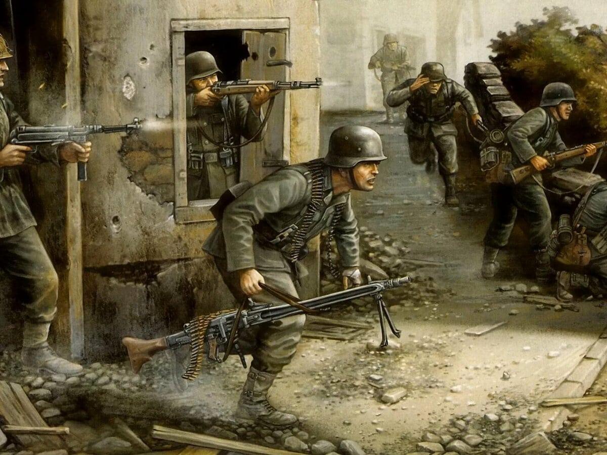 Немцы не ожидали активного сопротивления