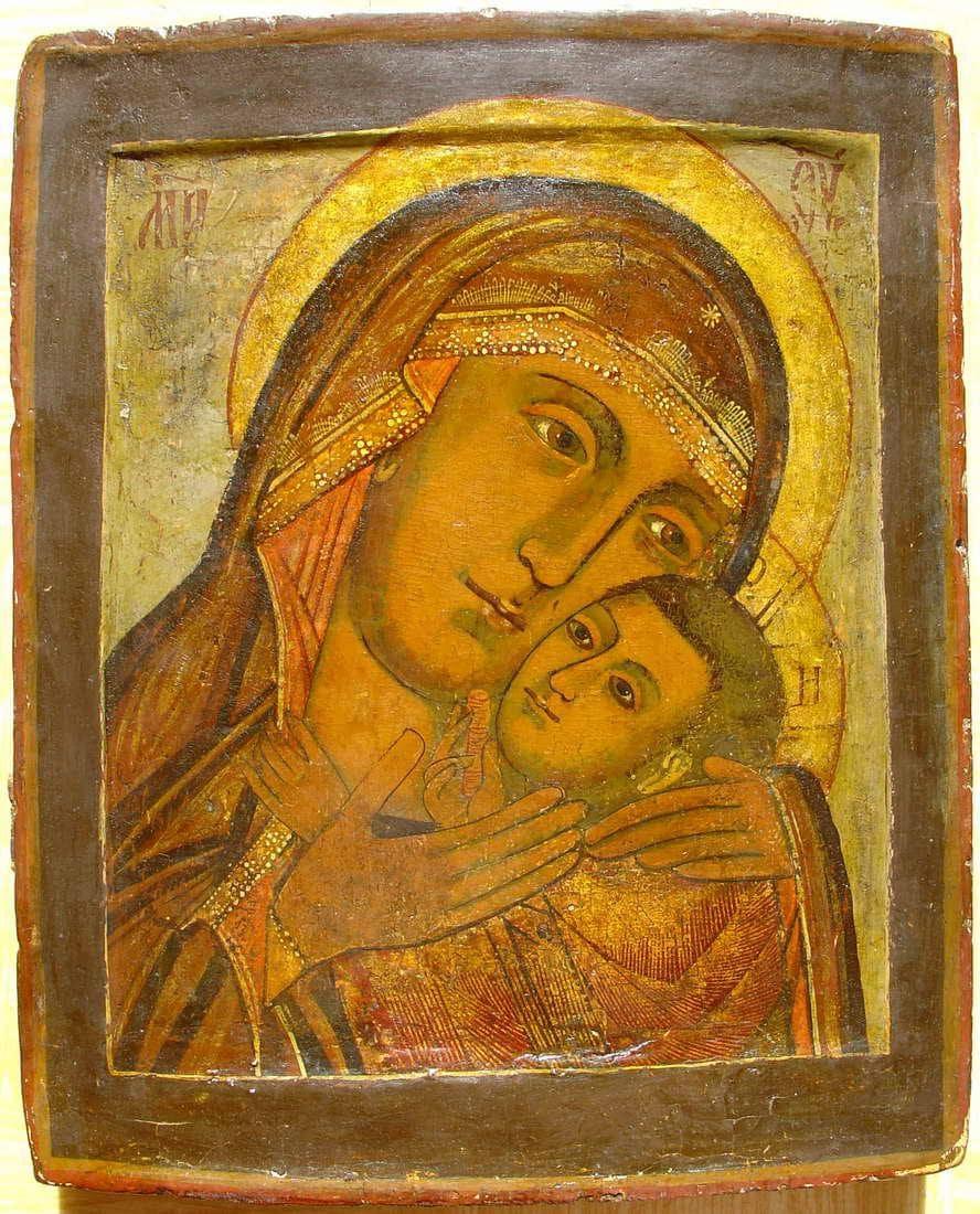 Чудотворный список Эфеской Божьей Матери