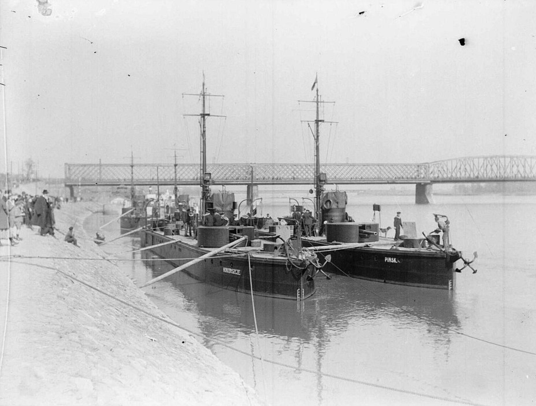 Корабли Пинской флотилии