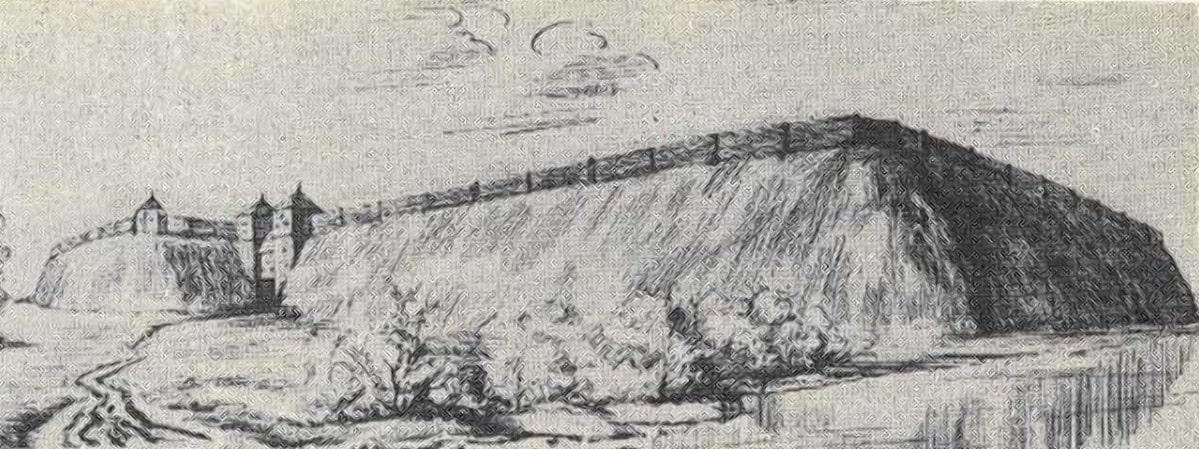 Менск был хорошо укрепленным городом