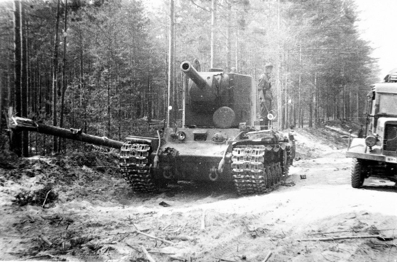 Мост должен был выдерживать самые тяжелые танки