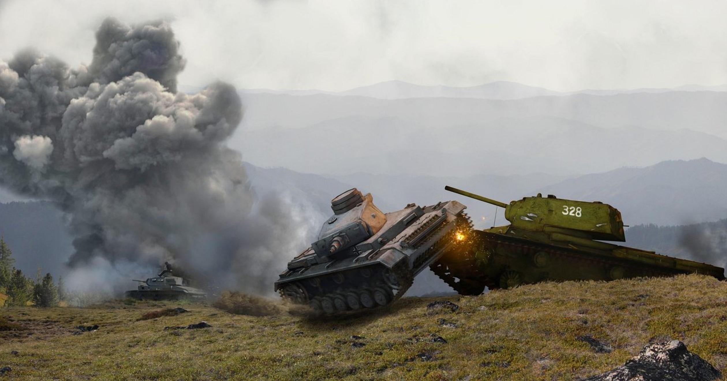Первый танковый таран под Кобрином