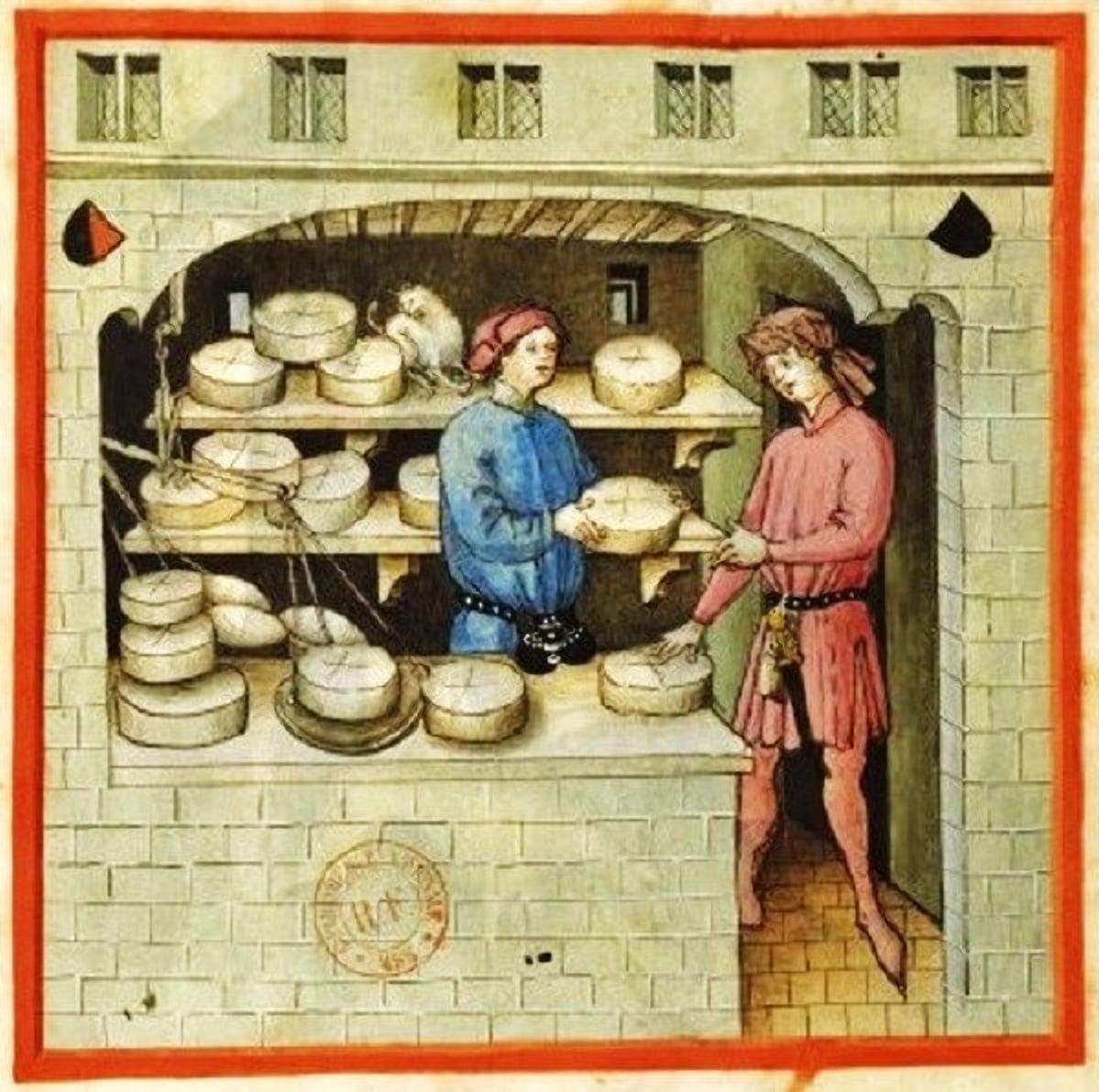 Сыр в Беларуси варили уже в Средневековье