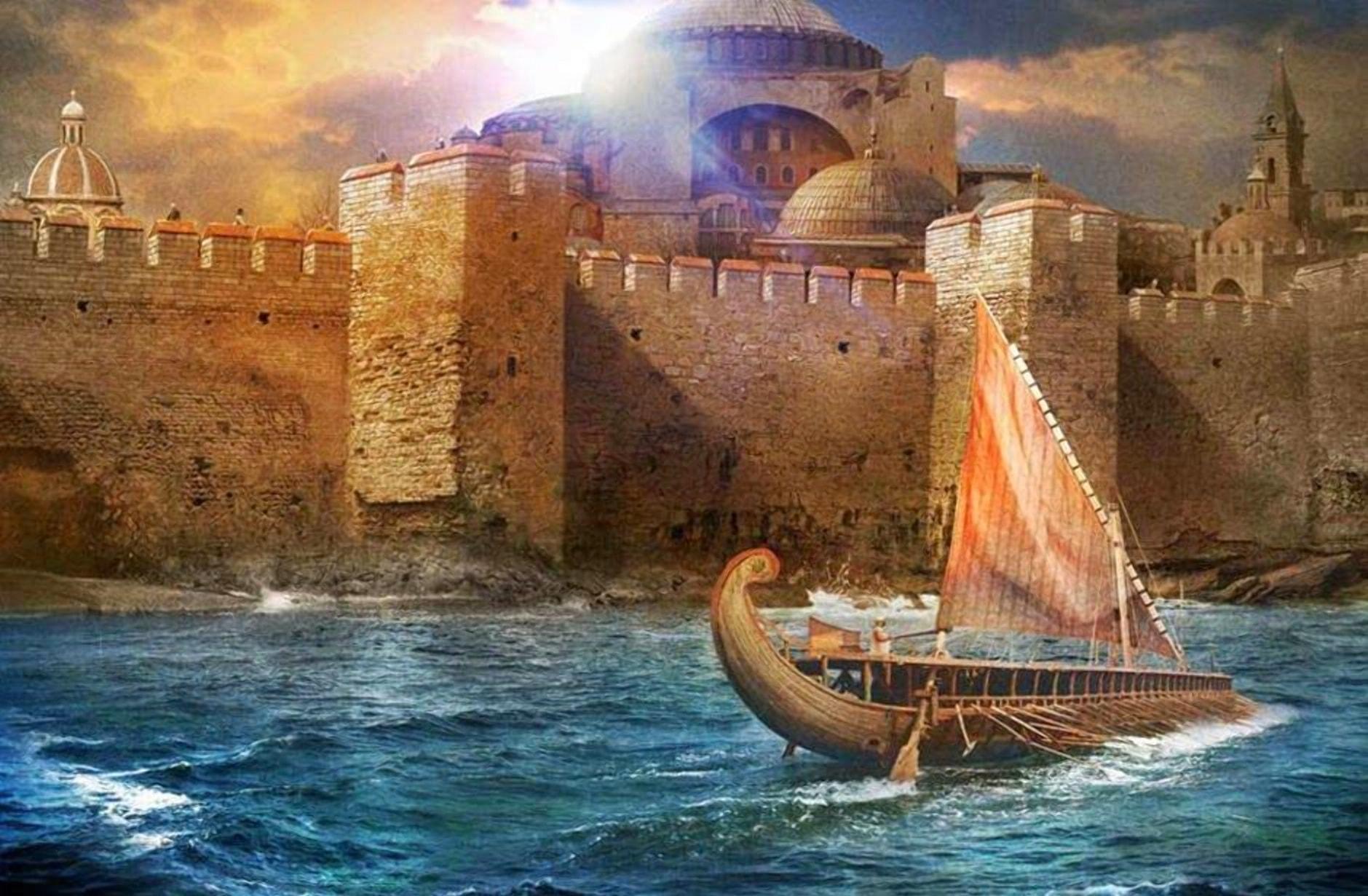 Византия нуждалась в опытных воинах
