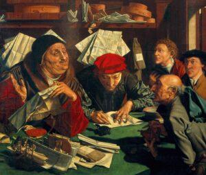 Еврейские банкиры и торговцы прятали сокровища