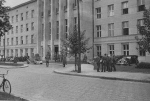 Здание Полесского воеводства в сентябре 1939 года
