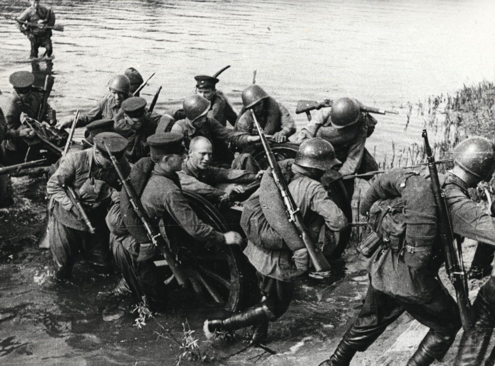 Иллюстрация к статье Брест 1941.Неизвестная артиллерийская дуэль