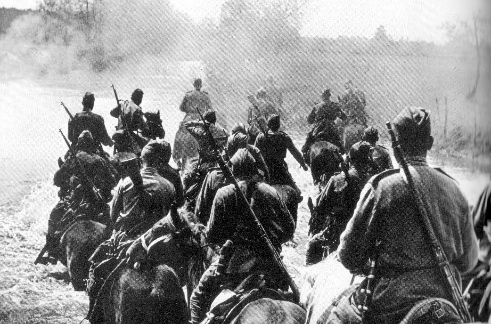 Кавалеристы РККА в 1941 году