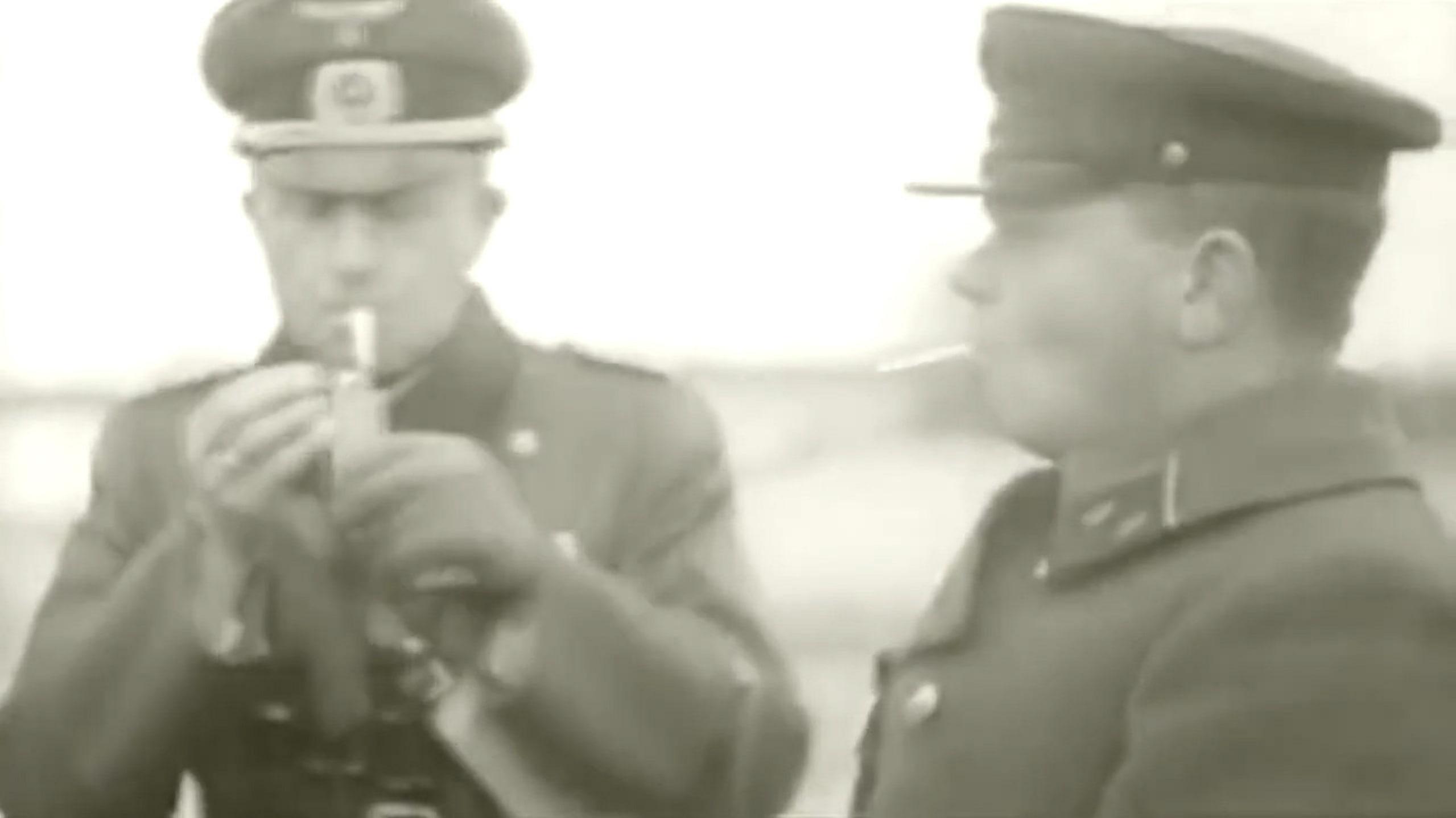 Майор Кузнецов и немецкий комендант границы