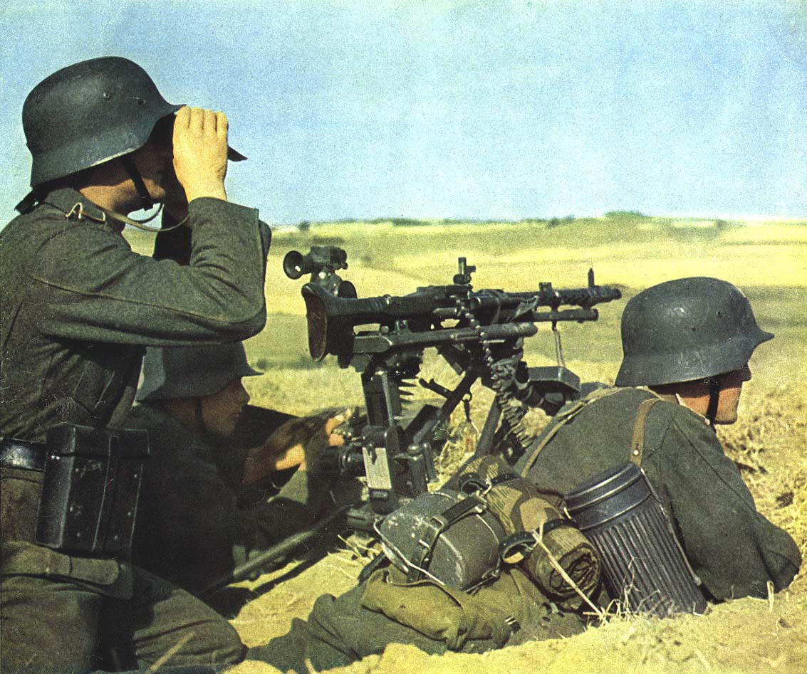 Немецкие заслоны окружившие советские войска
