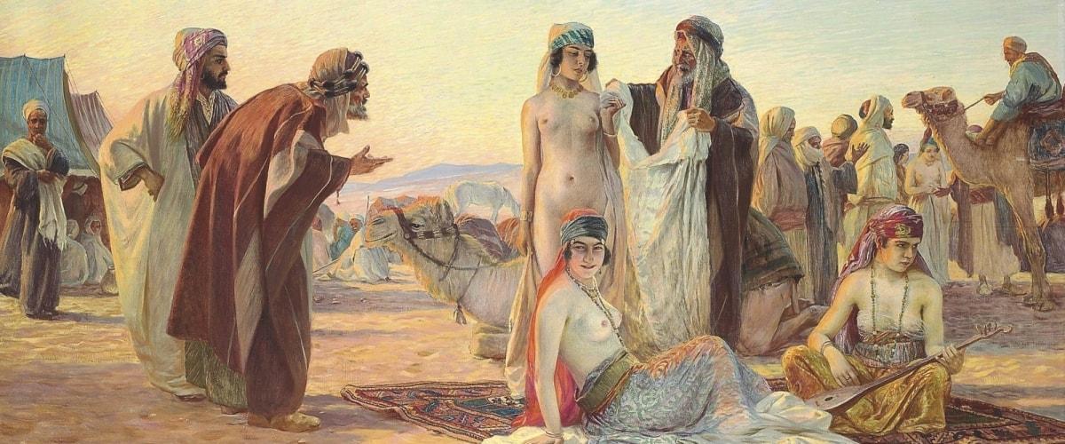 Проданные девушки ценились на рынках Востока