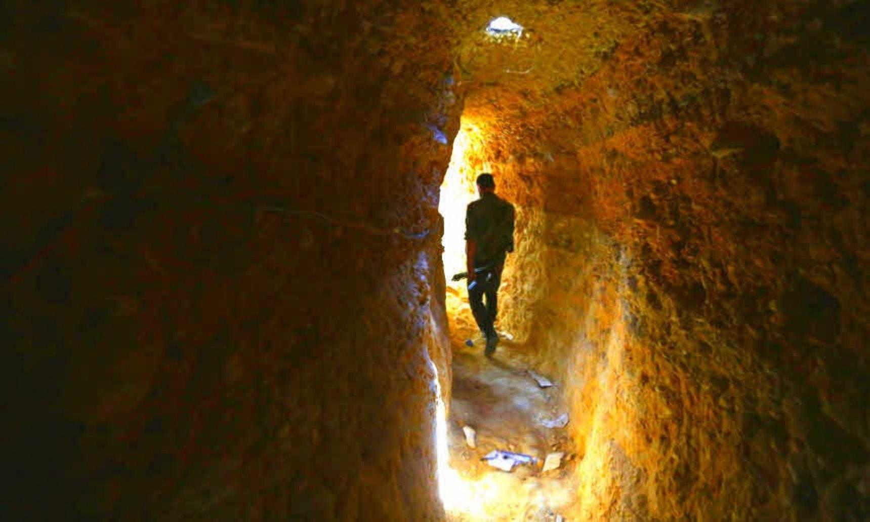 Бои в подземельях - июльские эпизоды обороны