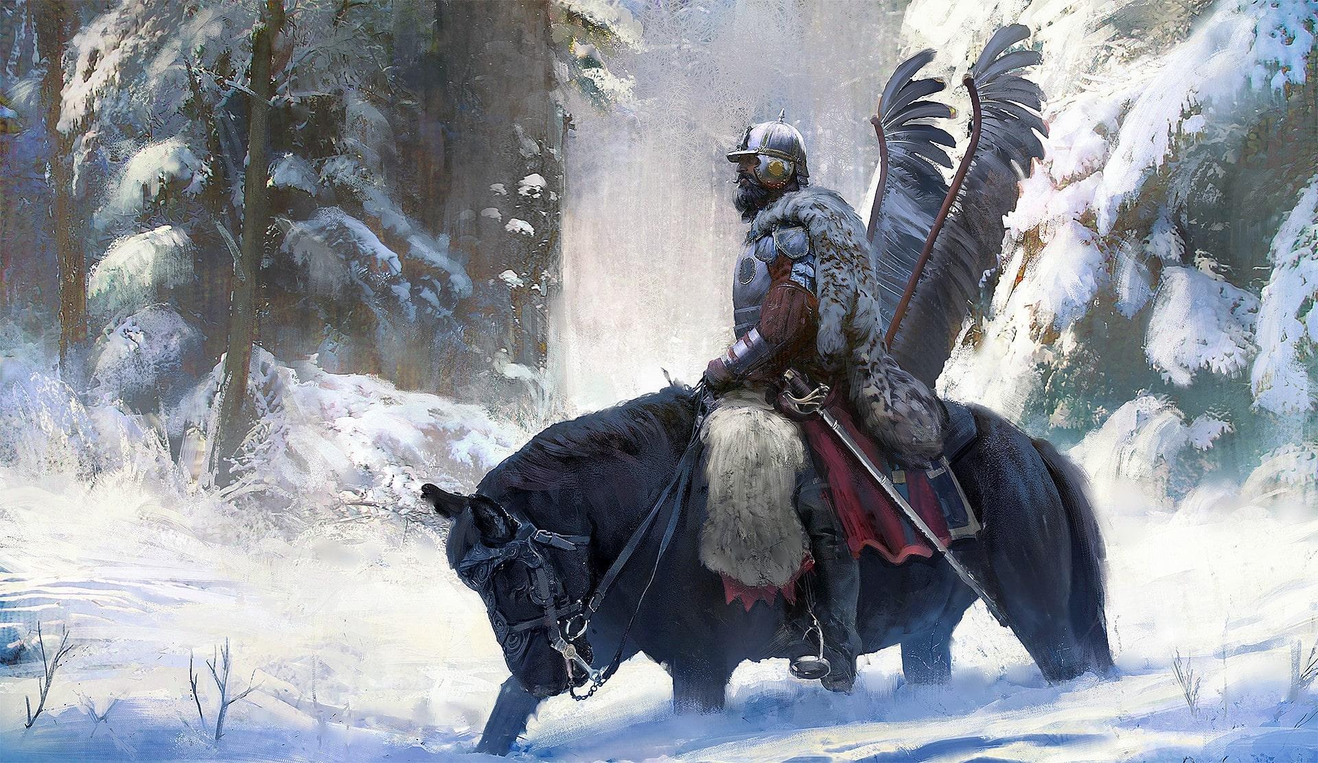 Зимой кавалерия ВКЛ становилась уязвимой