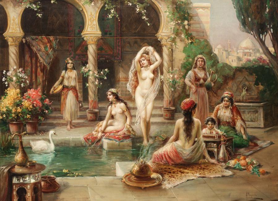 Златокудрый девичий стандарт ценился в гаремах