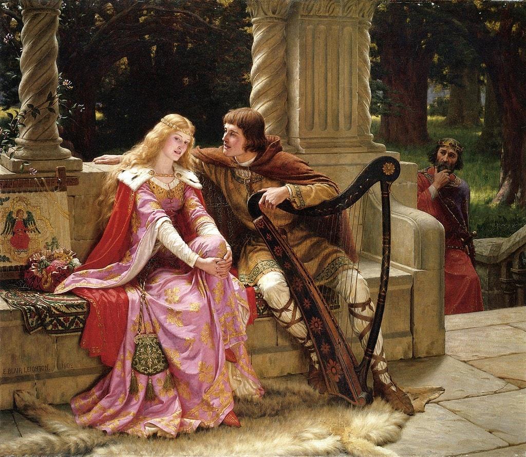 Иногда рабыня становилась дамой сердца рыцаря