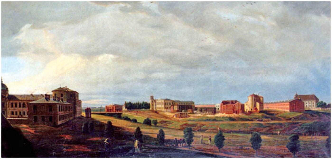 Крепость построили на месте старинного города