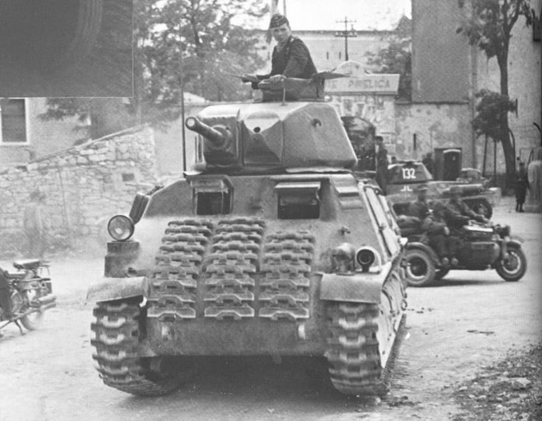 Немецкий танк был единственным подбитым в крепости