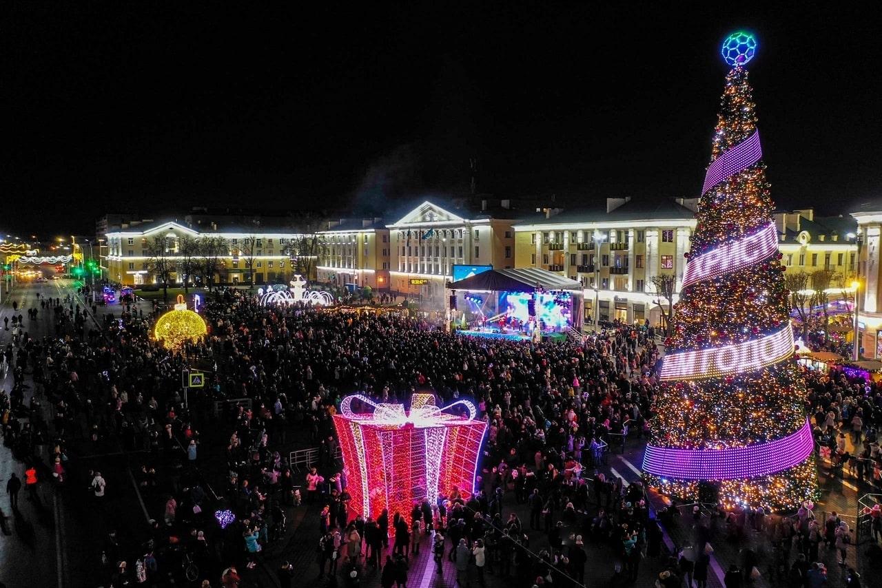 Новый год в Бресте