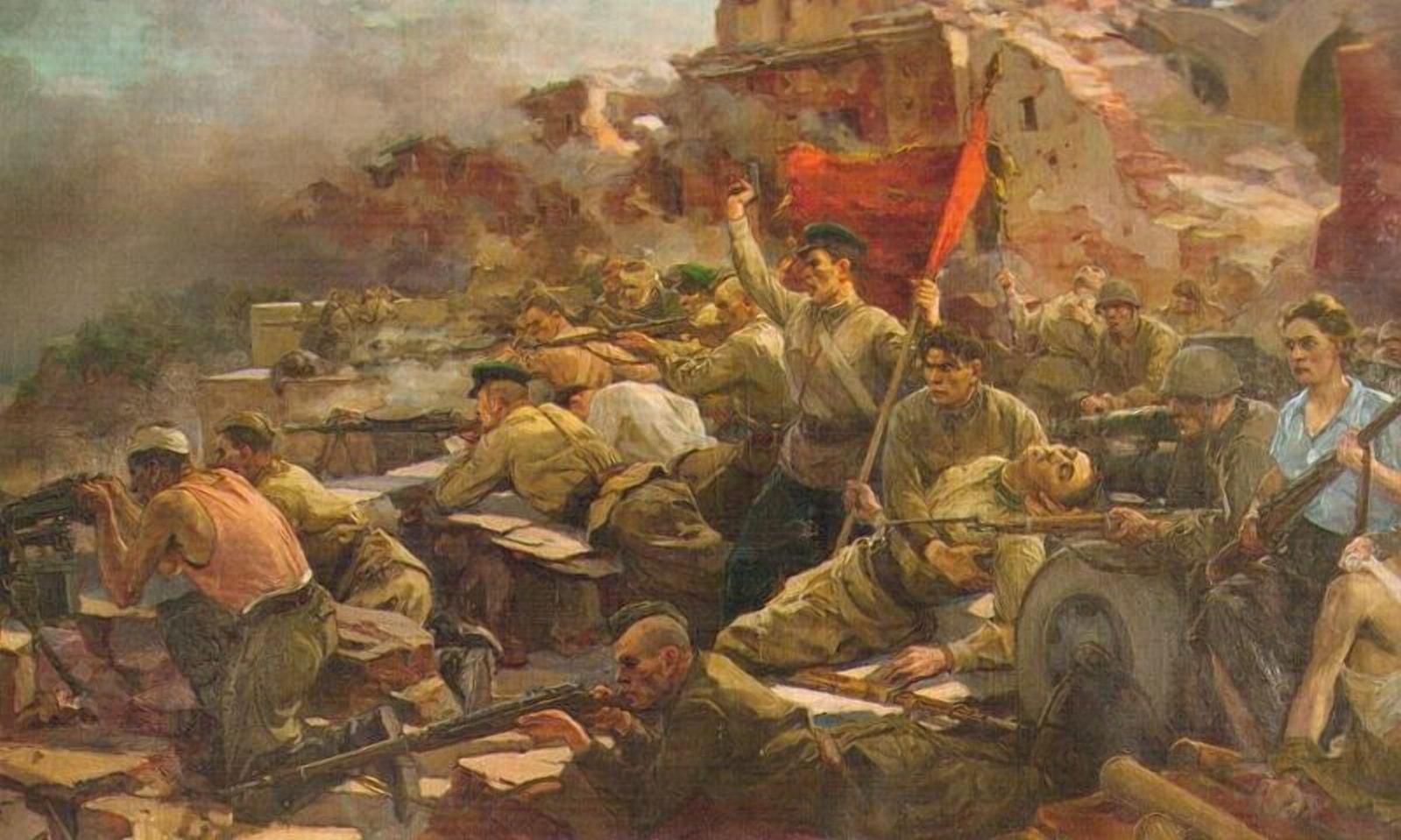 Подвиг защитников Брестской крепости переписываю по немецким лекалам