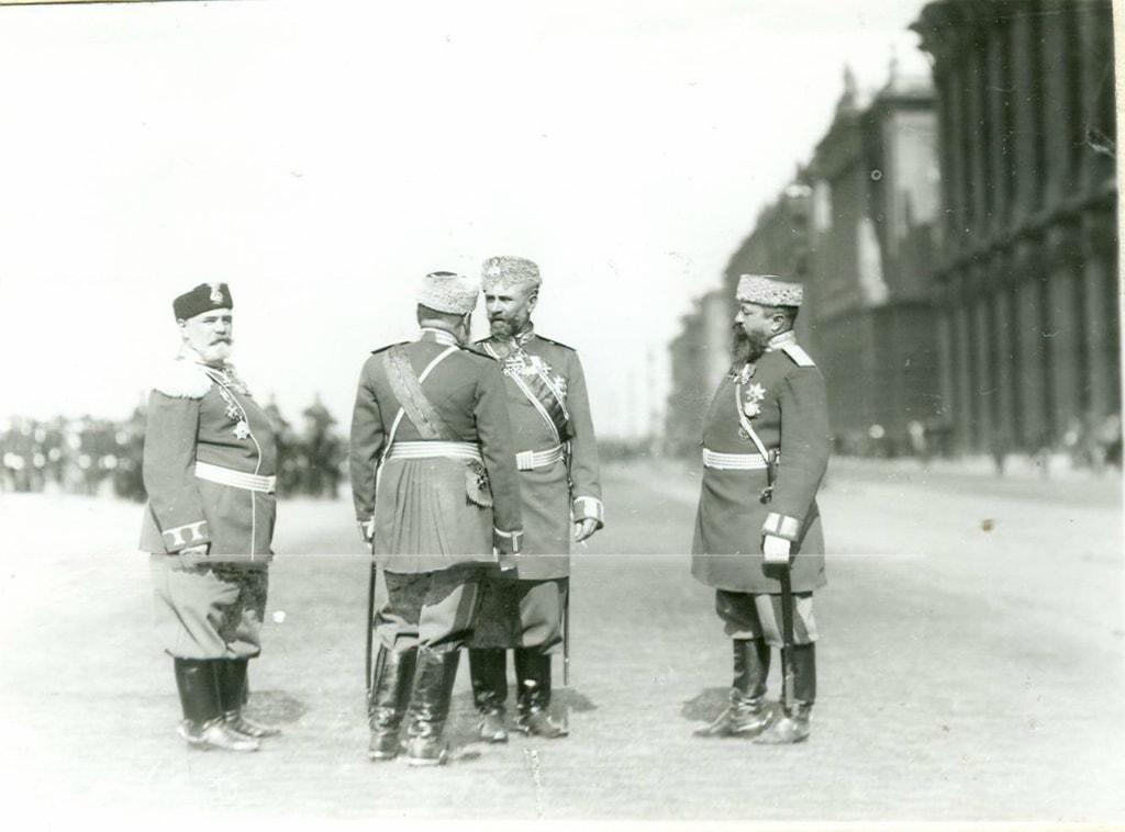 Высшие чины жандармерии приехали в Брест-Литовск
