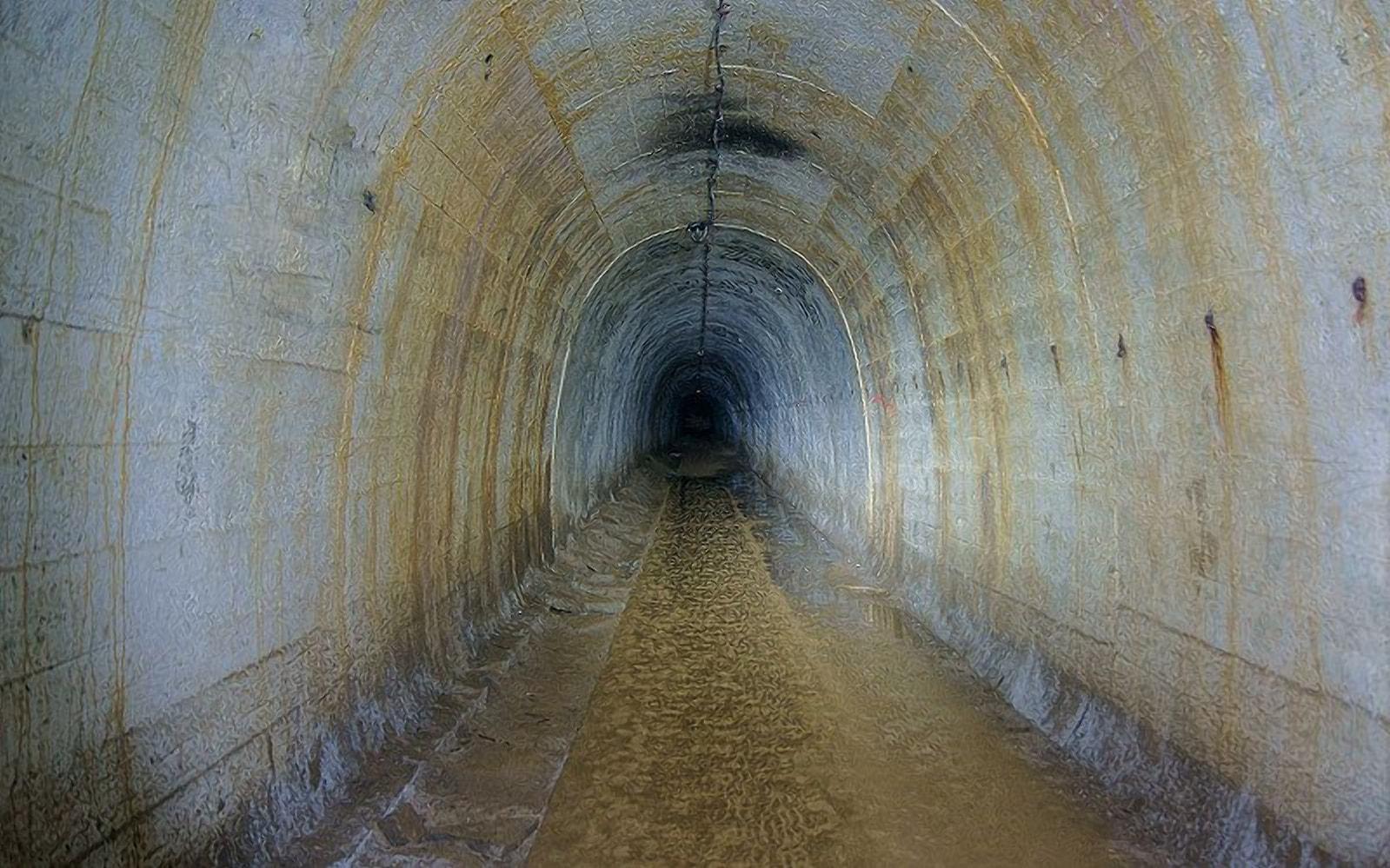 Подземный тоннель соединял вокзал и крепость
