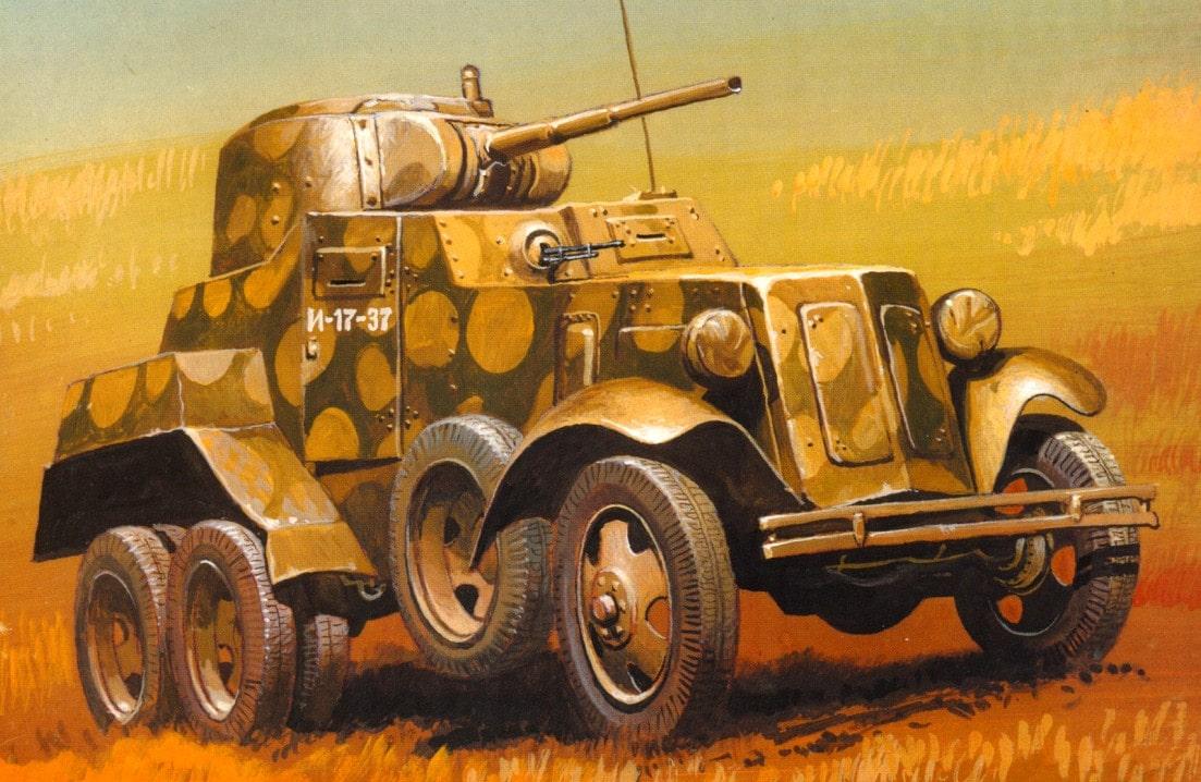 20-й мотополк плучил новые бронеавтомобили