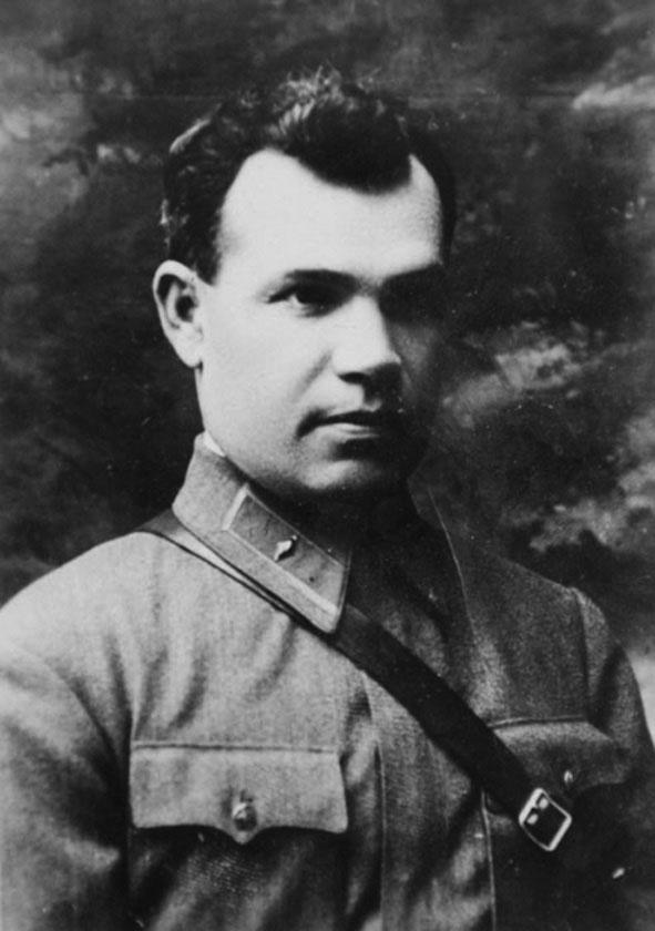 Александр Коробков в звании комбрига