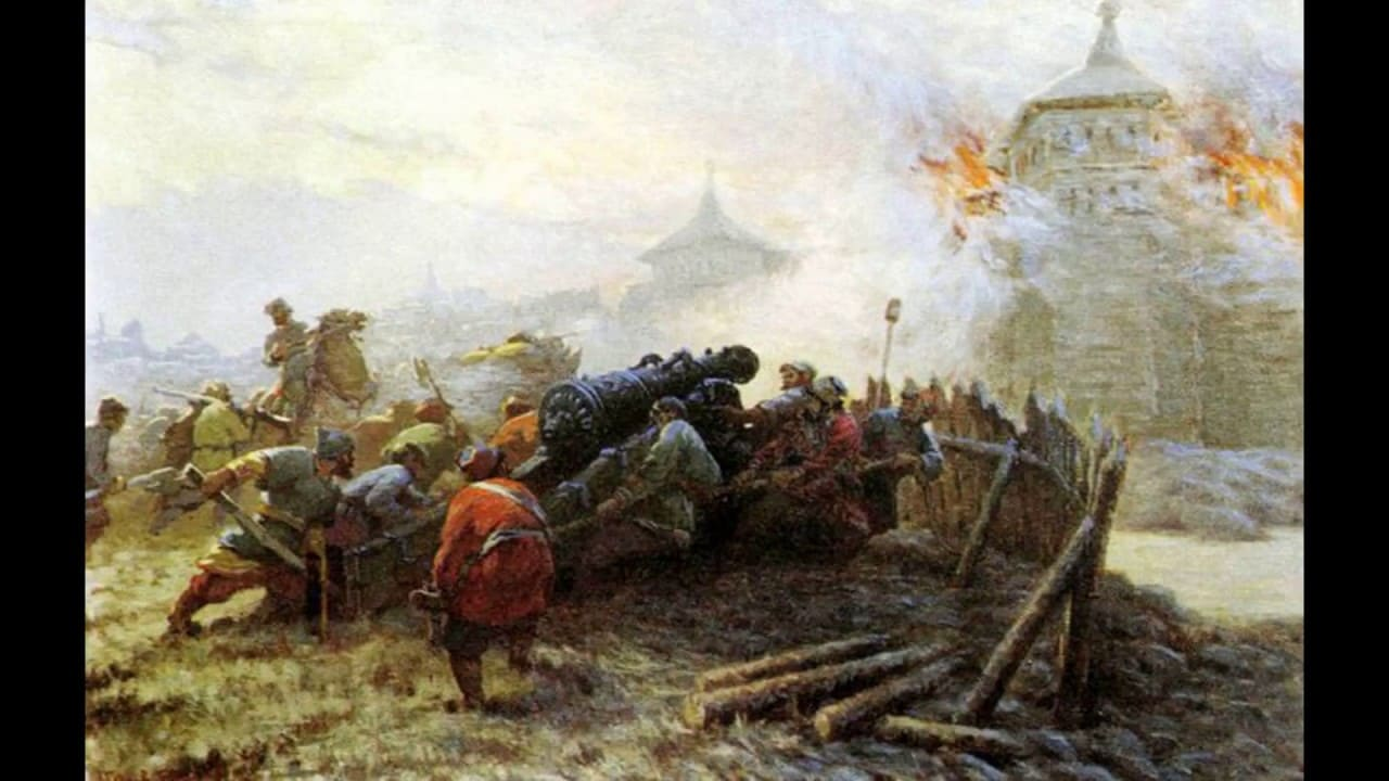Артиллерия Ивана Грозного была современной.