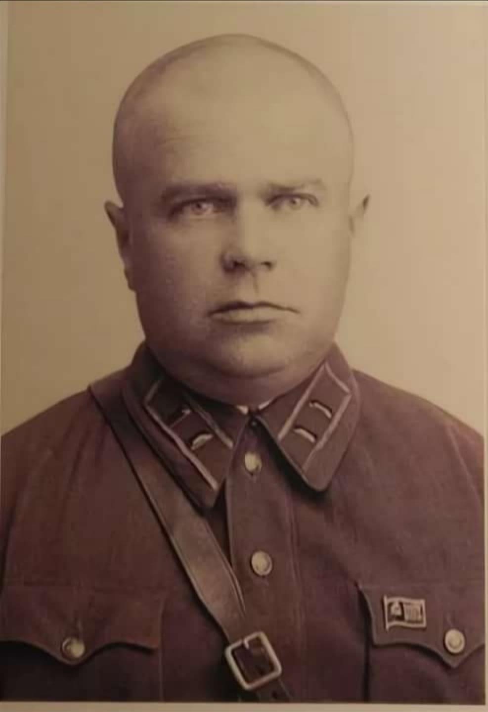 Командир 17-го Брестского Краснознаменного отряда майор Кузнецов