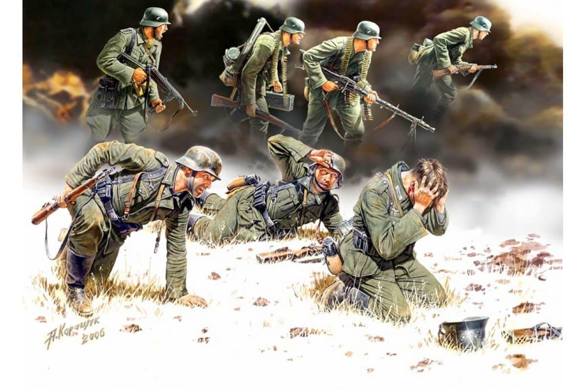 По крепости рыскали штурмовые группы