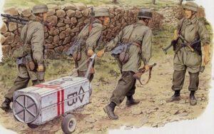 Еще до начала войны группа немецких парашютистов была сброшена в район Пинска