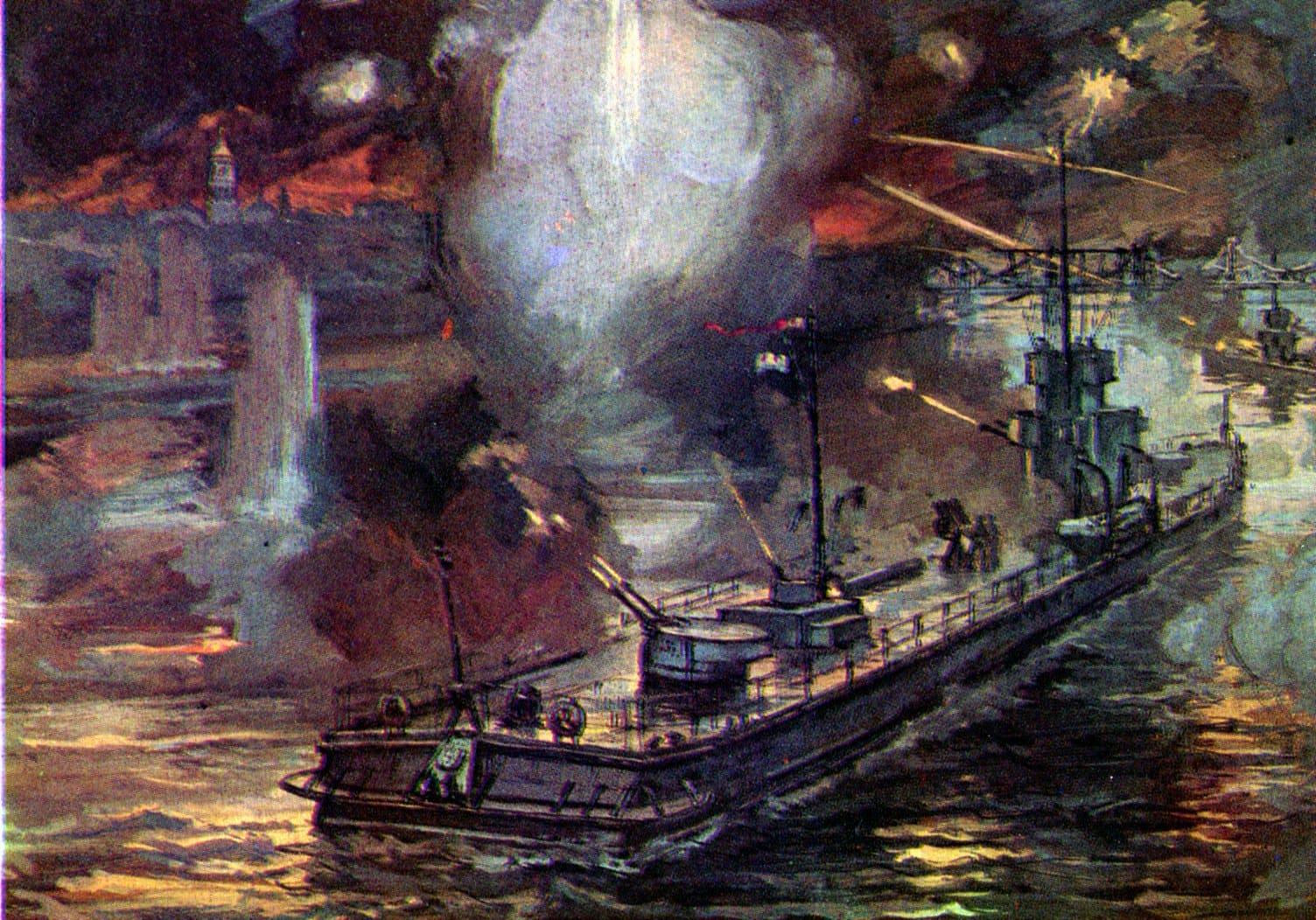 Пинская флотилия не могла эффективной действовать в июне 1941 года